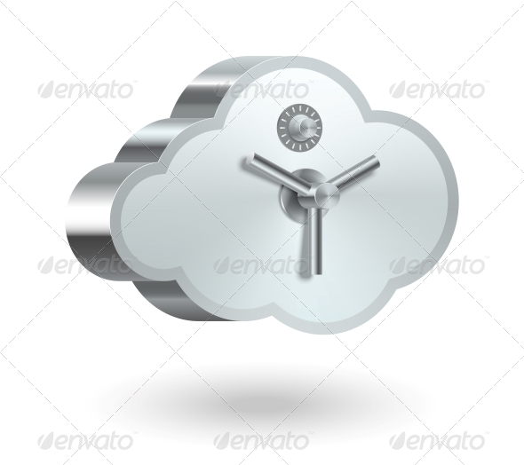 GraphicRiver Cloud Technology Security 6342856