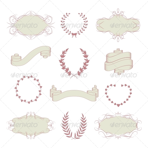 GraphicRiver Wedding Graphic Collection 6343012