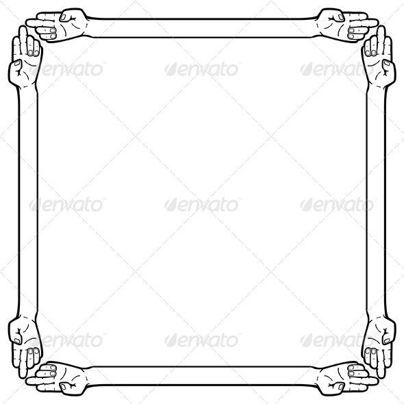 GraphicRiver Hand Frame 6343070