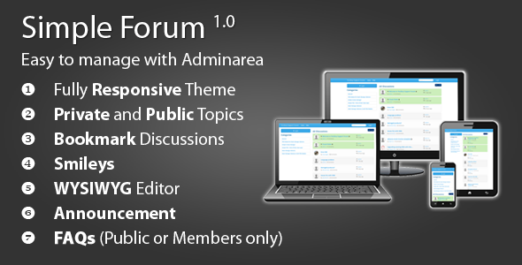 CodeCanyon Simple Forum 6343164
