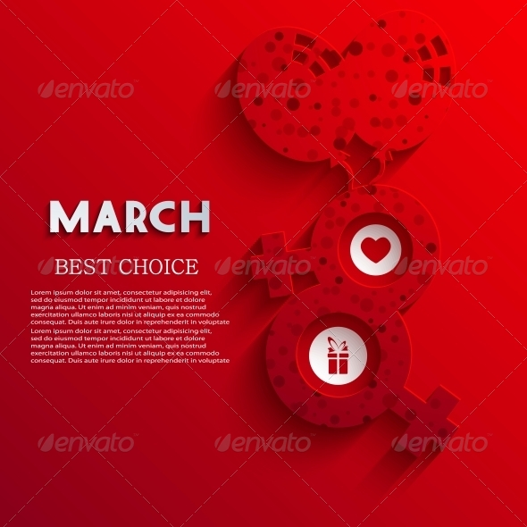 GraphicRiver Vector Women s Day Background 6343662