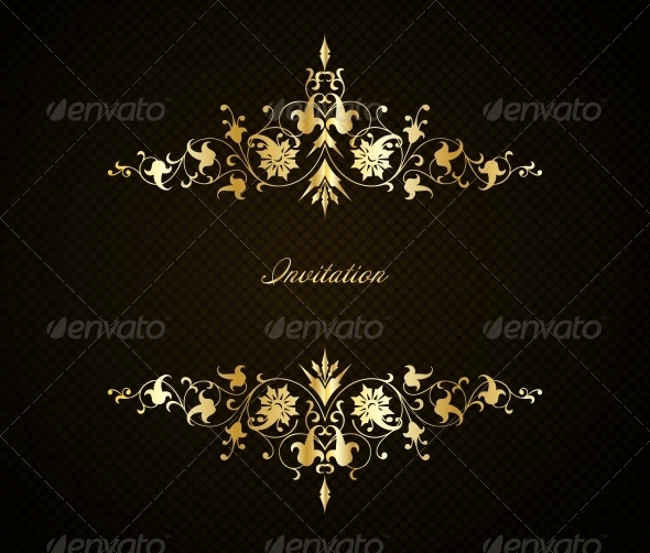GraphicRiver Vintage Floral Background 6345644