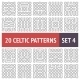 Celtic Patterns Set - GraphicRiver Item for Sale
