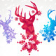 Vector Reindeers - GraphicRiver Item for Sale