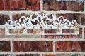 Vintage rack on red brick wall - PhotoDune Item for Sale