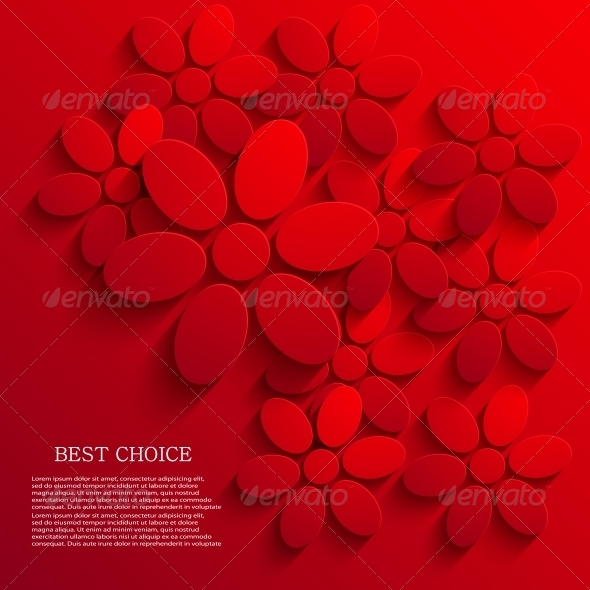 GraphicRiver Vector Flower Background 6346400