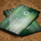 Business Card Green Blur - GraphicRiver Item for Sale