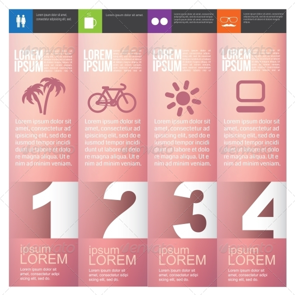 GraphicRiver Numbered Banners 6350689