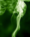 green smoke on a black background - PhotoDune Item for Sale