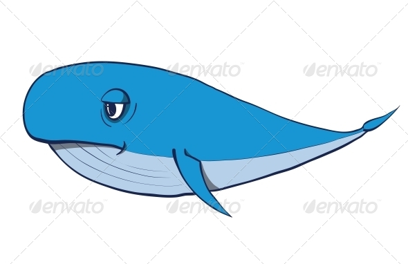 GraphicRiver Cartoon Whale 6352758