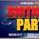 Birthday Party Facebook Timeline Covers - GraphicRiver Item for Sale