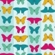 Seamless Pattern with Colorful Butterflies - GraphicRiver Item for Sale