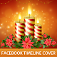 Christmas Candles Time Line Cover - GraphicRiver Item for Sale