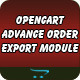Opencart Order Export Module - CodeCanyon Item for Sale