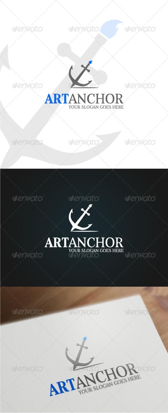 GraphicRiver Artanchor Logo Template 6354014