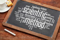 scientific method word cloud - PhotoDune Item for Sale