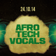 Afro Tech Vocals Flyer - GraphicRiver Item for Sale
