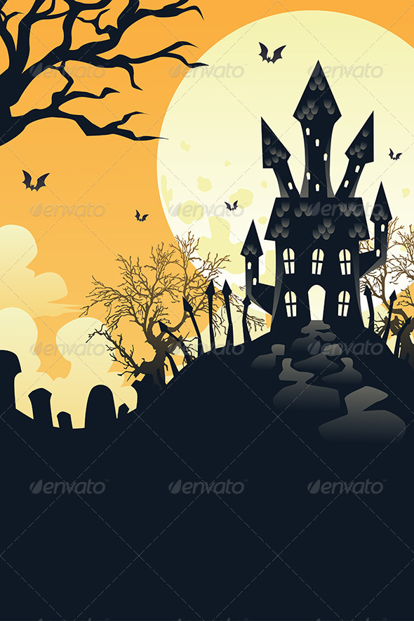GraphicRiver Halloween Background 6356349