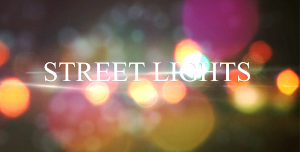 After Effects Project - VideoHive Street Lights Project 639961