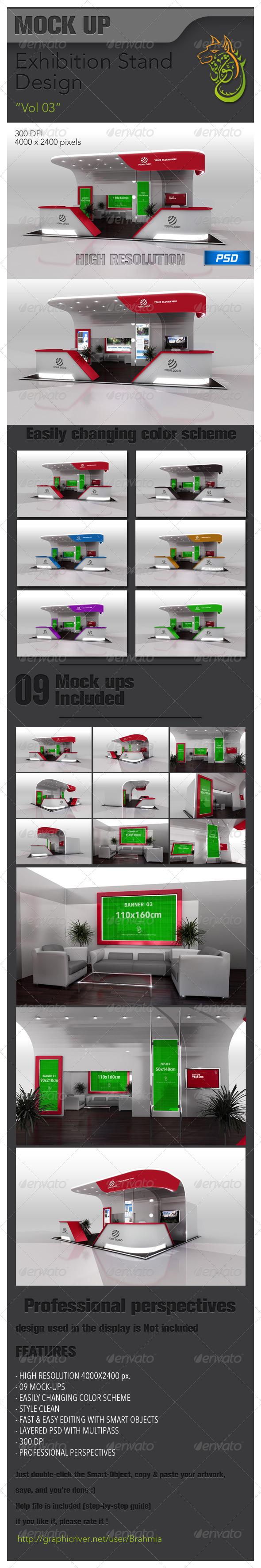 GraphicRiver Exhibition Stand Design vol 03 6357032