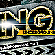 Underground Bling - PSD Hip Hop Music Flyer - GraphicRiver Item for Sale
