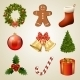 Christmas Design Elements and Icons. - GraphicRiver Item for Sale