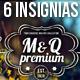 6 Retro Insignias - Badges - GraphicRiver Item for Sale