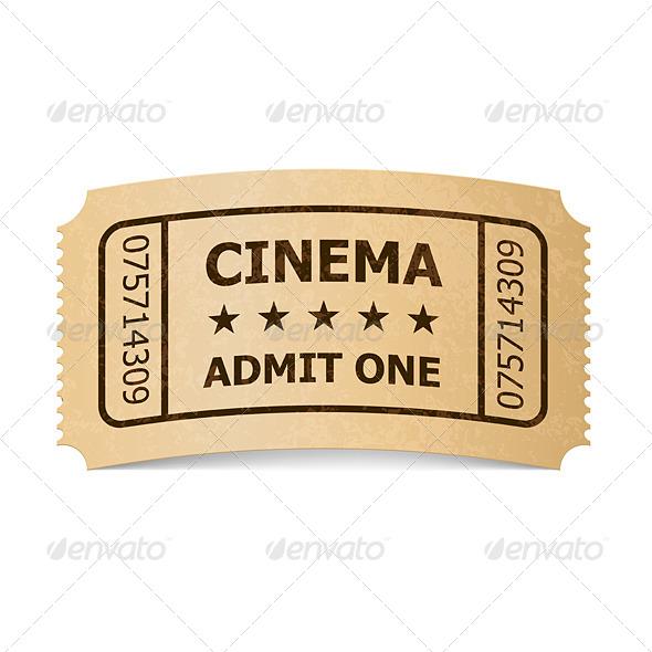 GraphicRiver Cinema Ticket 6359724