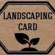 Landscaping Business Card - GraphicRiver Item for Sale