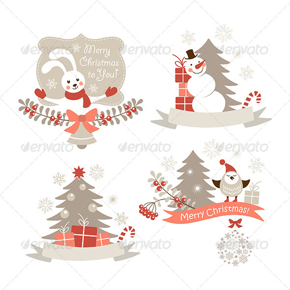 GraphicRiver Christmas Graphic Elements Set 6359817