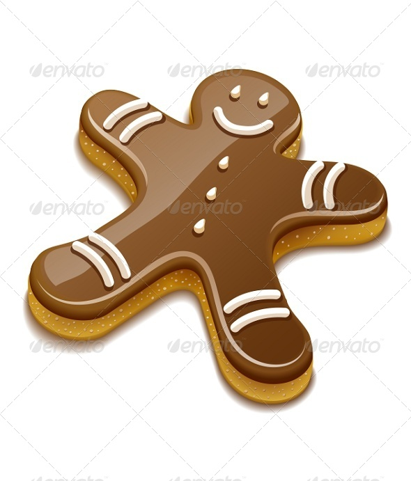 GraphicRiver Sweet Chocolate Biscuit Human For Christmas 6360210