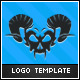 Demon Skull Logo - GraphicRiver Item for Sale