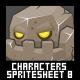 Characters Spritesheet 8 - GraphicRiver Item for Sale