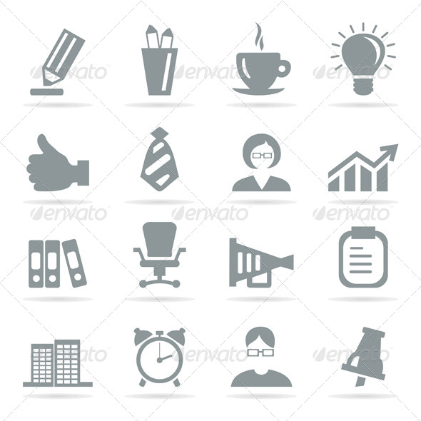 GraphicRiver Office Icons 6360662