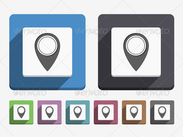 GraphicRiver Map Pin Icon 6360913