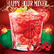 Christmas Happy Hour Mixer - GraphicRiver Item for Sale