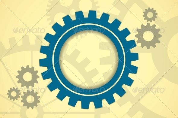 GraphicRiver Gears Background 6362687
