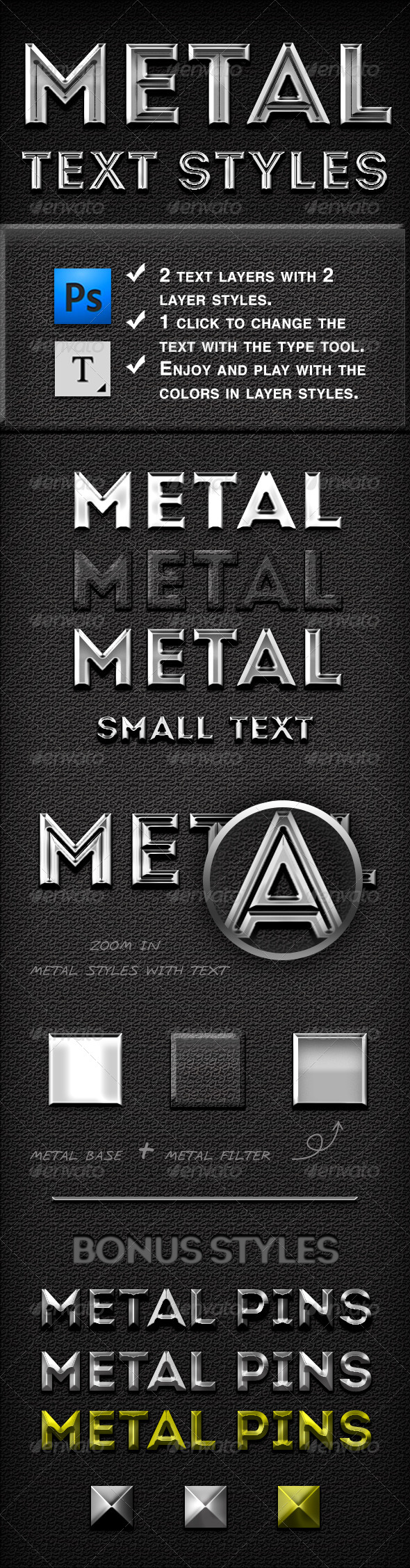 GraphicRiver Metal Text Styles 6362692