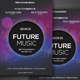 Futurestic A4 Flyer Design - GraphicRiver Item for Sale