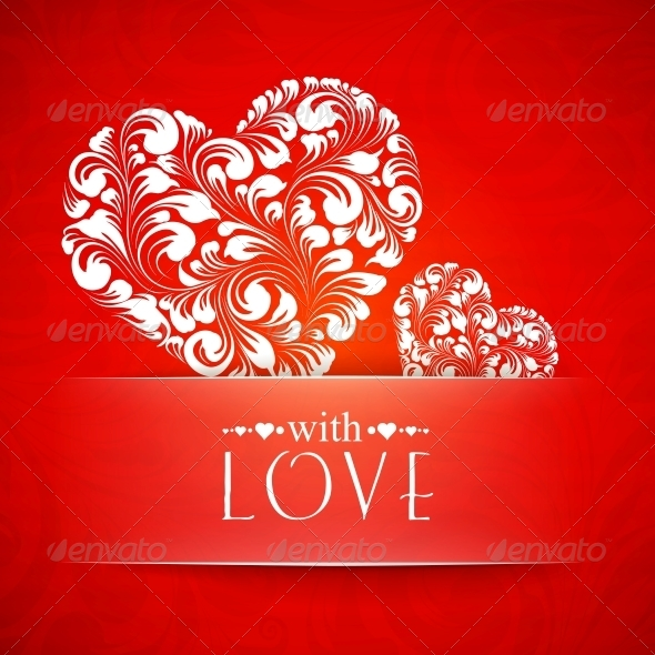 GraphicRiver Happy Valentines Greeting Card 6363712