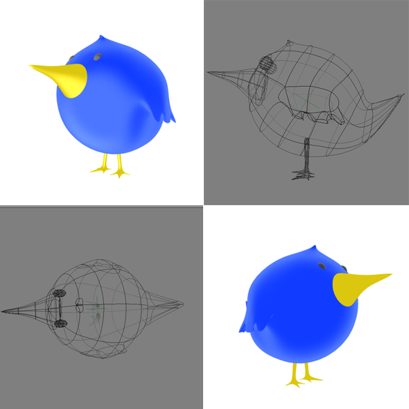 3DOcean Tweet Tweet Bird 6345904
