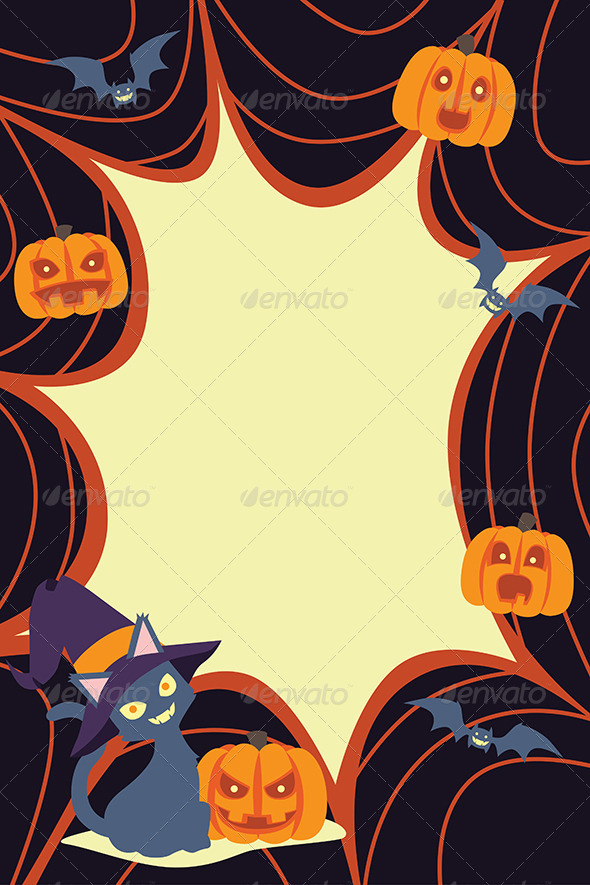 GraphicRiver Halloween Background 6365419