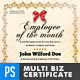 Multipurpose Certificates - Employee Edition - GraphicRiver Item for Sale