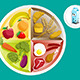 Food on a Plate - GraphicRiver Item for Sale