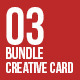 3in1 Creative Bundle Card-Vol3 - GraphicRiver Item for Sale