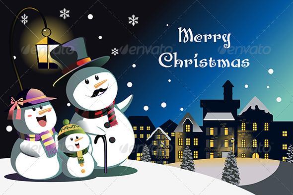 GraphicRiver Christmas Card Design 6365769