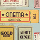 Vintage Tickets - GraphicRiver Item for Sale