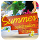 Summer Party Celebration Flyer Template - GraphicRiver Item for Sale