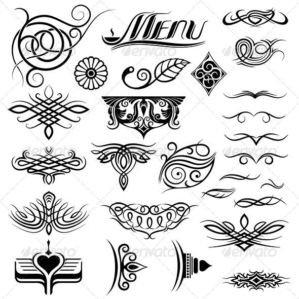 GraphicRiver Design Elements Set 6366758