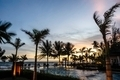 Twilight  hotel pool on the sea shore. - PhotoDune Item for Sale